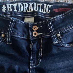Dark wash Hydraulics